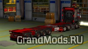 Krone 4 Axe Container Owned by SMG [ETS2]