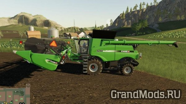 Комбайн Case Axial Flow 9240 Series [FS19]