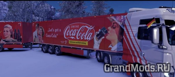 Vintage Coca Cola Skins for Owned Trailers  [ETS 2 1.33]