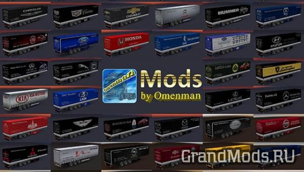TRAILER PACK BY OMENMAN V2.22.0 [ETS2]