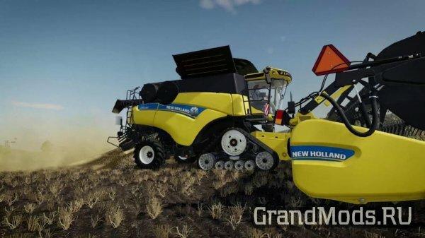 New Holland в виртуальном мире FS19