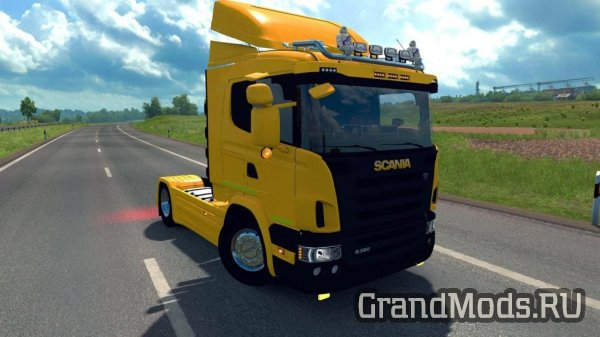 Scania R/G/P Cabin Pack [ETS2]