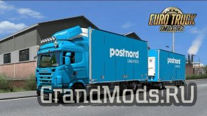 Tandem Addon for Sogard3 Scania G&P series