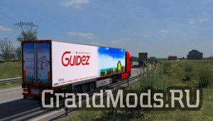 Parts Addons for Chereau by MDmodder [ETS2]