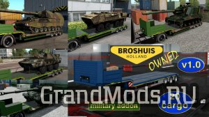 Military addon for Broshuis v1.2 [ETS2]