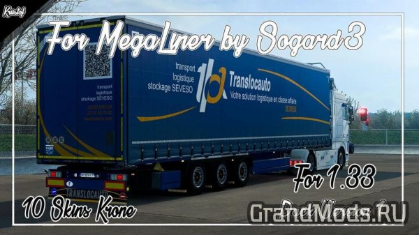 Kriistof Pack for MegaLiner by Sogard3 [ETS2]