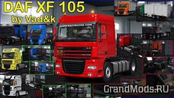 DAF XF 105 by vad&k v 6.9 [ETS2]