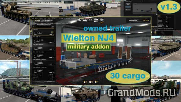 Military addon for Wielton NJ4 v1.5.2 [ETS2]
