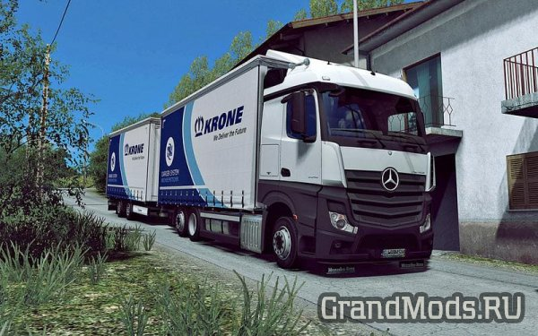 Mercedes Actros MP4 Rigid Chassis Mod