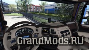 DAF XF Euro 6  Interior + Low Chassis [ETS2]
