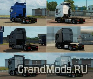 Low deck chassis addons for Schumi trucks [ETS2]