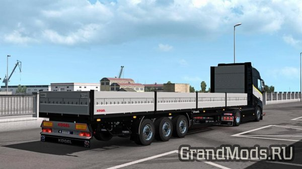 Trailer Kogel Pack v1.4 by Schumi для ETS 2 1.37