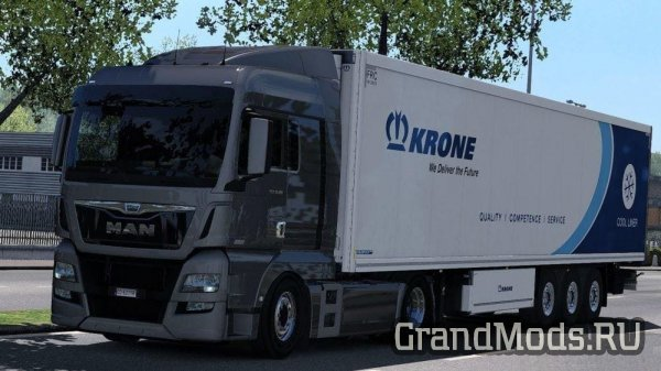 Man E6 Lowered Suspension (1.34.x) [ETS2]