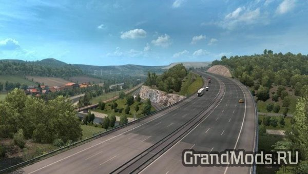 ETS2: ориентир Верратальский мост
