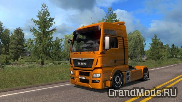 MAN TGX Euro 6 Interior + Low Chassis [ETS2]