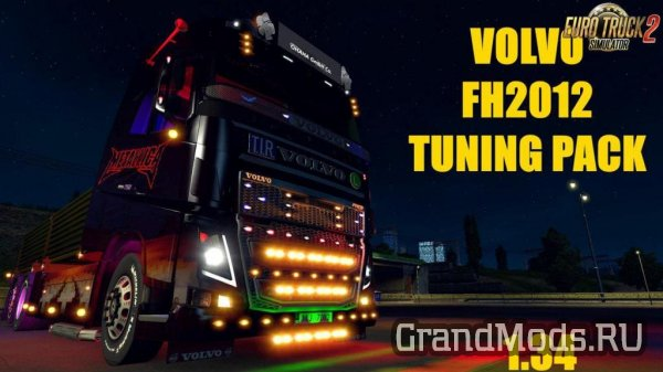 Volvo FH 2012 Tuning Pack v1.0 [ETS2]