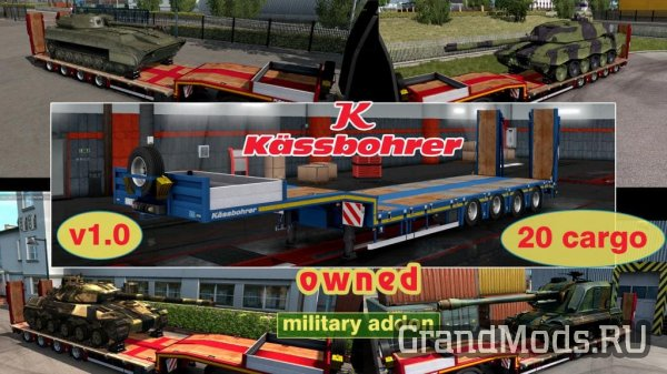 Military addon for Kassbohrer LB4E v1.1.2 [ETS2