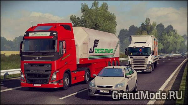 Traffic Density Mod v1.0 1.34.x