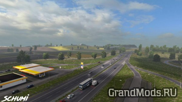 New Weather Spring v1.0 [Schumi] [ETS2]