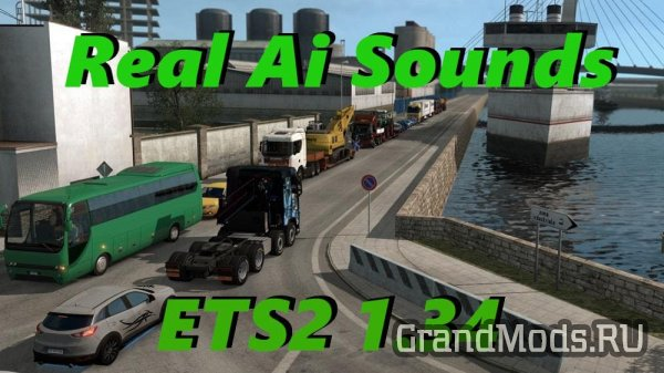 Real Ai Traffic Engine Sound v1.34 [ETS2]