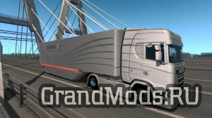 Mercedes AeroDynamic Trailer v1.0 для ETS 2