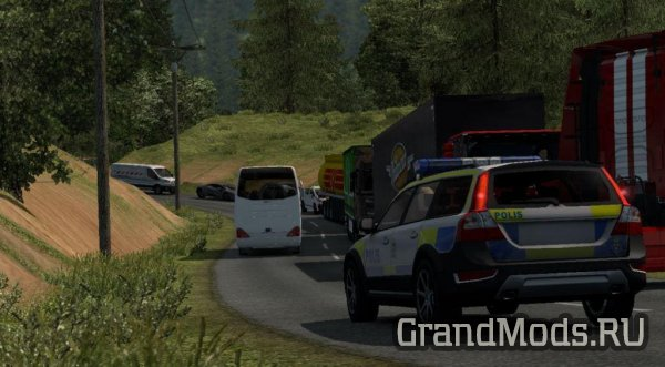 Карта Map Legiunnaire2 V64 для ETS 2