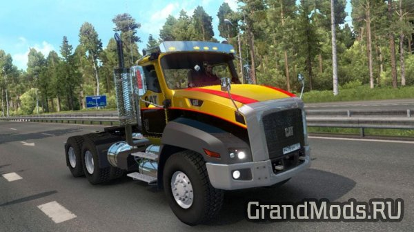 Грузовик Caterpillar CT660 v2.1 для ETS 2