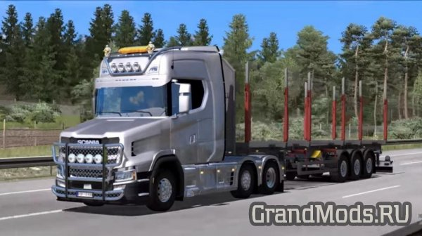 Грузовик Scania Next  Gen Tcab v3.1 для ETS 2
