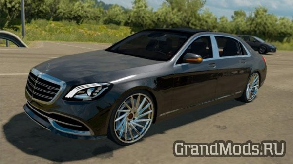 Автомобиль Mercedes-Benz S650 Maybach для ETS 2