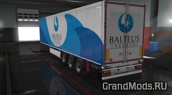 "Набор скинов ""Own Trailers (Beta 40 Trailers) 27c"" для ETS 2"
