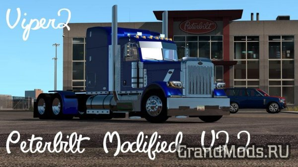 Мод грузовика Peterbilt 389 Modified для ETS 2