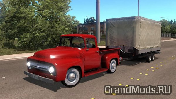 Ford F-100 Custom Cab 1956 [ATS]