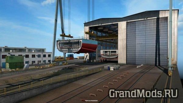 ETS2: Новая промышленность черноморья