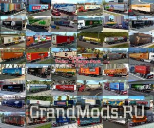 Penguins Trailer and Cargo Pack V5.5 [ETS2 v.1.35]