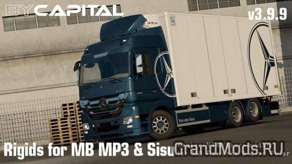 Rigid chassis for MB MP3 & Sisu Polar Mk1 ByCapital v4.1.1 [ETS2]