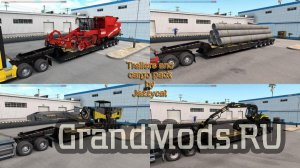 Trailers and Cargo Pack v2.9 для ATS