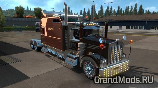 Мод грузовика Kenworth W900B Long для ETS2 v1.38