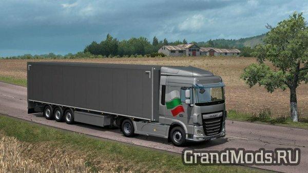Набор болгарских окрасок для ETS2
