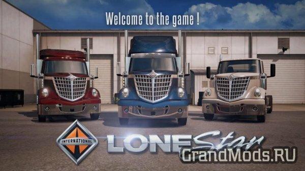 Вышел грузовик International LoneStar для ATS