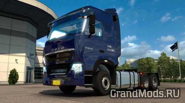 Мод грузовика Sinotruk Howo T7H для ETS 2