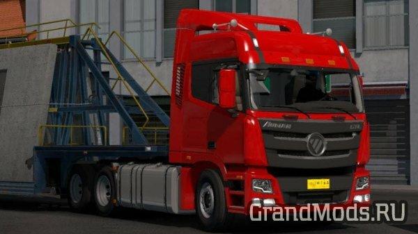 Мод грузовика Foton Auman GTL-SP для ETS 2