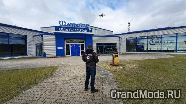 Команда SCS посетила завод по производству прицепов Krone
