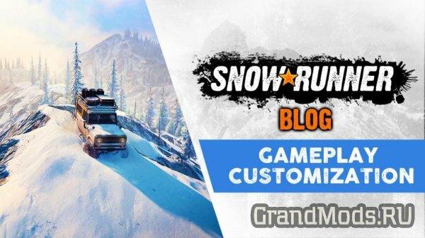Модификации транспортных средств в SnowRunner