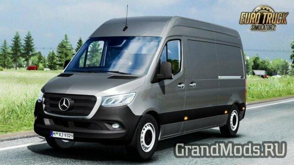 Фургон Mercedes-Benz Sprinter 2019 для ETS2