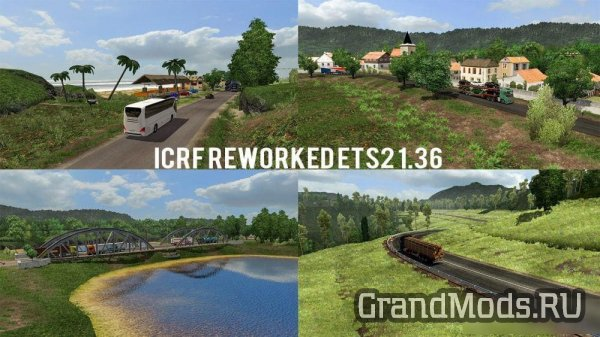 "Карта Индонезии ""ICRF Map Reworked"" 1.39 [ETS2]"