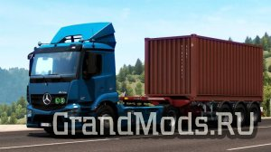 Mercedes Benz Antos by DANZ  v1.39.0.33 [ETS2]