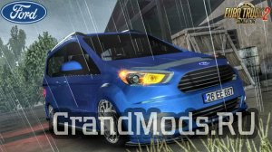 Компактвэн Ford Tourneo Courier для ATS / ETS2