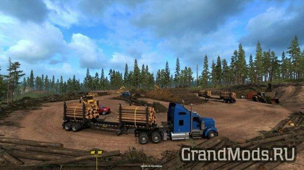 Лесозаготовительная отрасль штата Айдахо