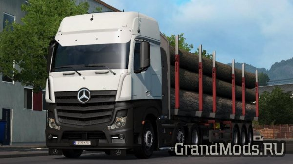 Mercedes Actros MP4 Reworked v2.3 [ETS2]