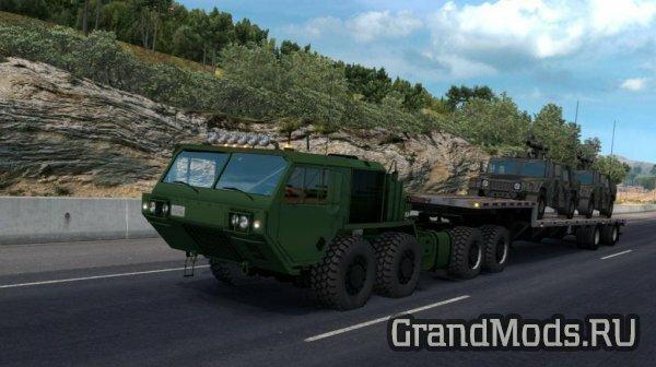 Военный грузовик Oshkosh Defense HEMTT A4 8x8 для ATS и ETS2
